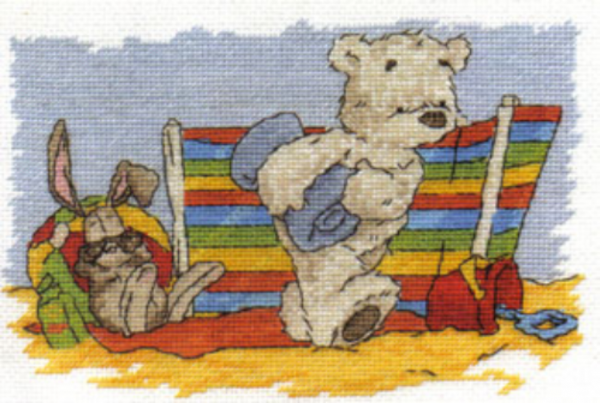 Lickle Ted Lickle Holidays Cross Stitch Kit
